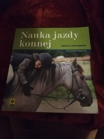 Książka konie nauka jazdy konnej