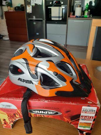 Nowy kask rowerowy Alpina
