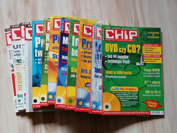 Magazyn komputerowy CHIP + CD, Rocznik 2001