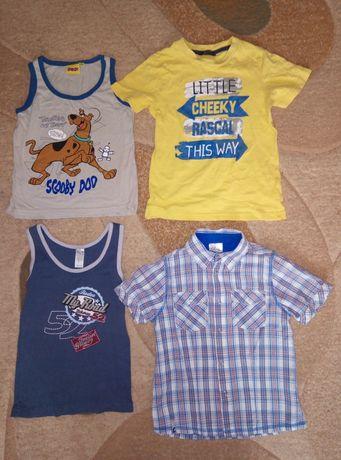 Вещи на мальчика 104-110 4-5 лет шорты футболка