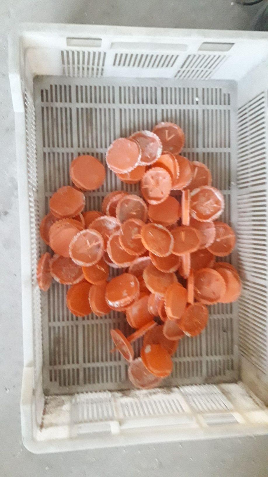 Zatyczki pokrywki dekielki do puszek elektrycznych 70 sztuk