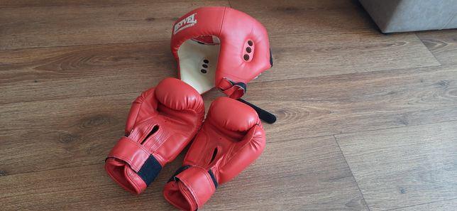 Боксёрские перчатки и шлем Reyvel