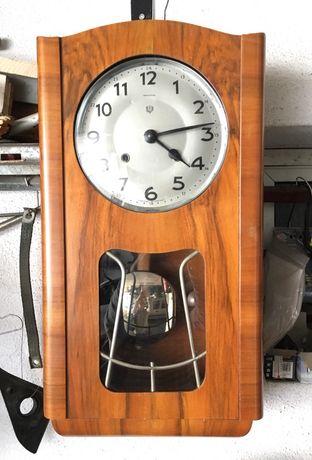 Relógio parede REGULADORA pêndulo a funcionar perfeitamente