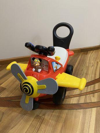 Продам чудомобиль «Самолет пилота Микки» от Kiddieland в отлич состоян