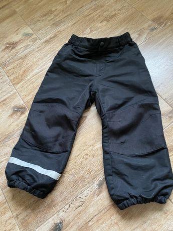 Штаны h&m, зимнее блоневые штаны