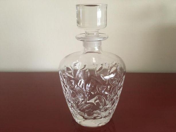 Garrafa de Licor/Whisky e balde de gelo em cristal