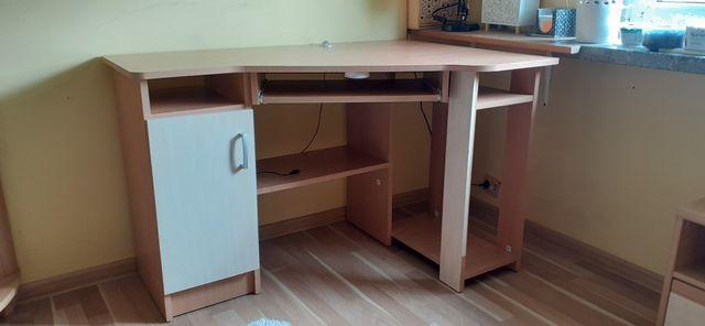 Piękne biurko narożne