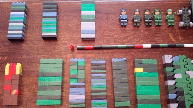 Klocki COBI, duży zestaw wojskowy, 263 elementy.