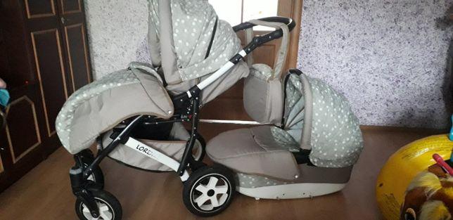 Продається коляска у відмінному стані повний комплект+запасне колесо.