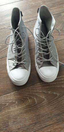 Converse Chuck Taylor All Star Cordura Hi Wolf Grey/ash grey/white