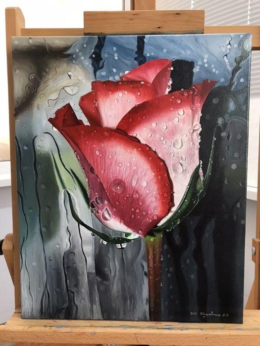 Картина маслом роза Одесса - изображение 1