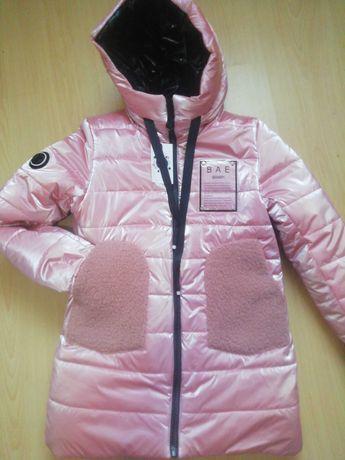 Зимняя подростковая курточка на девочку 42 р