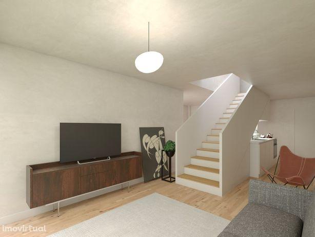 Apartamento T2+1 Duplex c/Terraço Baixa do Porto