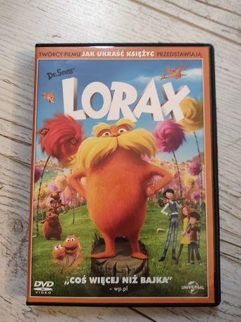 Film Lorax na DVD