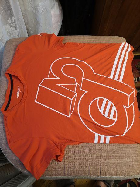 Футболка Adidas Neo, M, оранж