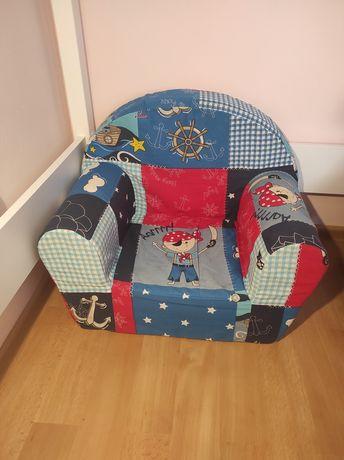 Fotel Piankowy, Fotelik Dziecięcy, Mini sofka Pirat