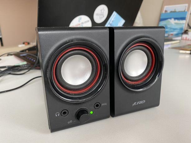 Głośniki komputerowe USB aux