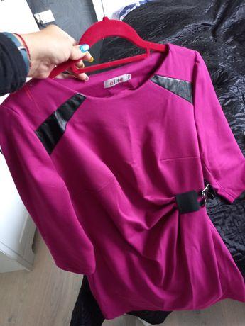 Fioletowa sukienka / tunika