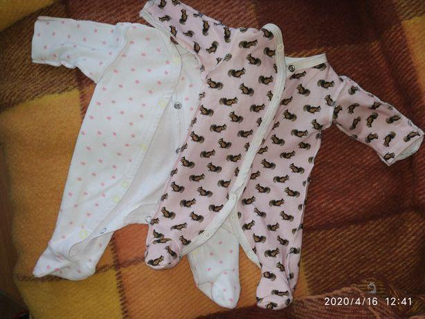 Одежда для маловесных (недоношенных) детей: человечки, втч. теплые