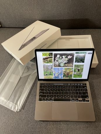 MacBook Pro 13 2020 Touch Bar rakieta 500GB SSD