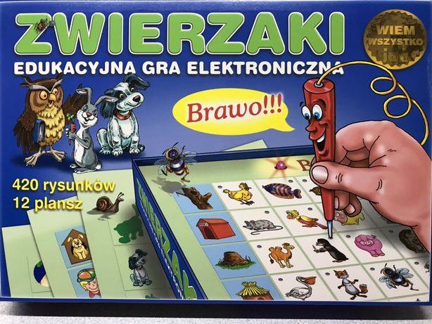 Zwierzaki, elektroniczna gra edukacyjna