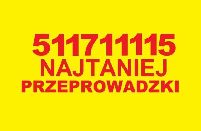 Tanie i solidne PRZEPROWADZKI tragarze transport mebli BAGAŻÓWKA 24/7