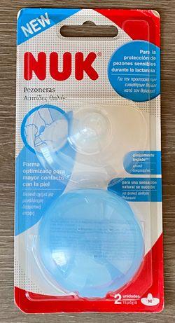 NUK - protetor de mamilos de silicone - NOVOS - Selados
