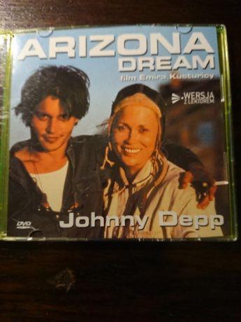 Johnny Depp w filmie ARIZONA DREAM na dvd