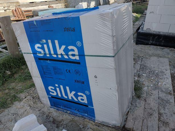 Silka 24cm cala paleta 45 szt oryginalnie zapakowana + klej.