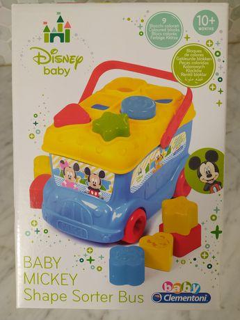 Clementoni Autocarro formas Mickey - NOVO