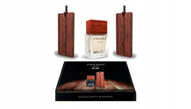 Zestaw perfum dla mężczyzny do samochodu gift box