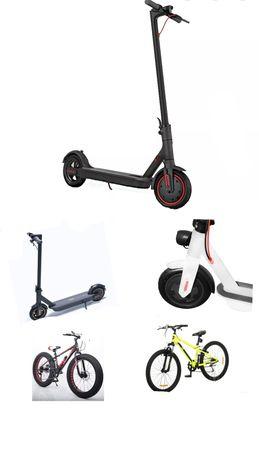 Ремонт электросамокатов и велосипеды