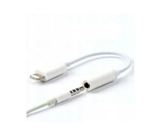 Oryginalny adapter APPLE JACK 3.5mm - LIGHTNING do  iPhone iPad iPod