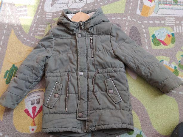 Куртка мальчик - легкая зима(116)