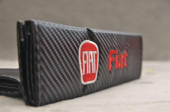 Nakładka na pasy Fiat Argo Bravo Ducato Siena Uno Panda Doblo carbon