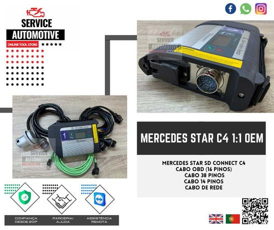 Mercedes Xentry C4  1:1 OEM