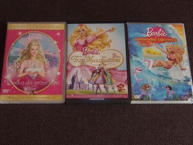 bajki z serii Barbie - zestaw 5 płyt