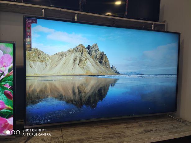 Телевизор Comer Smart Андроид с Т2 USB, HDMI 4К UHD 65 дюймов экраном