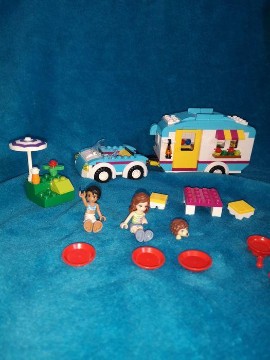 Lego friends samochód z przyczepą Łódź - image 1