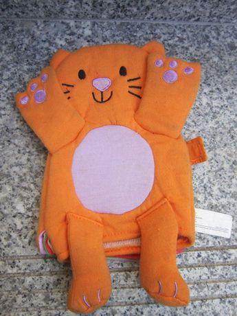 livro didatico marionete gatinha