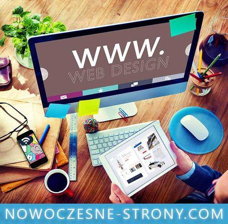 Strona Internetowa z Logo | Projekt Baner Ulotka Wizytówka | FV 23%