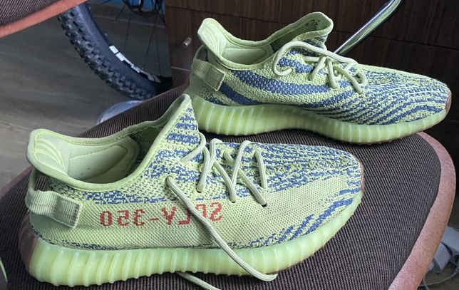 Adidas yeezy boost 350 frozen yellow 42 uzywane