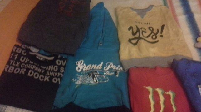 Lote camisolas de menino 6 anos