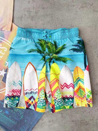 Яркие пляжные шорты HM на 5 - 7 лет