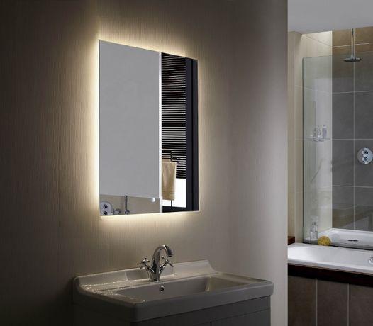 Lustro Led podświetlane 90x60 lustro na wymiar Producent