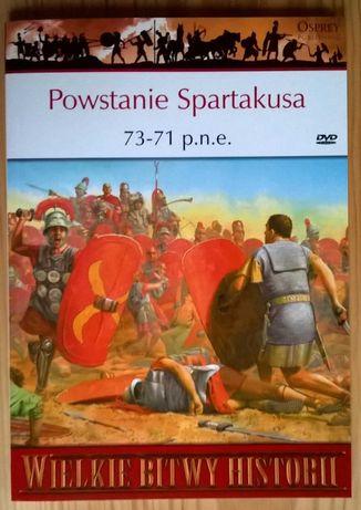 Wielkie bitwy historii – Powstanie Spartakusa   73-71 p.n.e.