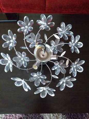 Żyrandol kwiatki