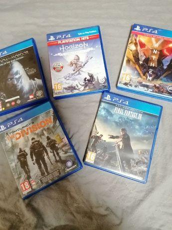 Gry PS4 zestaw Horizon Anthem Final Division LOTR okazja
