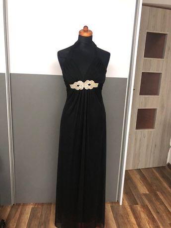 sukienka długa czarna , rozmiar S