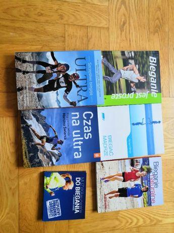 Książki o bieganiu - komplet